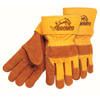 Safety-zone-leather-gloves: Memphis Glove - Premium Side Split Cow Gloves, Large, Select A Side Leather