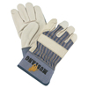 safety zone leather gloves: Memphis Glove - Grain Leather Palm Gloves, X-Large, Grain Cowhide