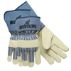 safety zone leather gloves: Memphis Glove - Grain Leather Palm Gloves