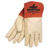 hand protection: Memphis Glove - Mustang Welding Gloves, Small, Russet/Beige