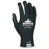 Safety-zone-nylon-gloves: Memphis Glove - 9178Nf Cut Protection Gloves, Large, Nylon With Kevlar, Black