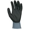 Safety-zone-nylon-gloves: Memphis Glove - Ultratech HP t Coated Gloves, Medium, Gray/Black/Blue