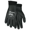 Safety-zone-nylon-gloves: Memphis Glove - Ninja Ice Gloves, Large, Fully Coated, Black