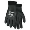 Safety-zone-nylon-gloves: Memphis Glove - Ninja Ice Gloves, Medium, Black/Blue