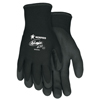Safety-zone-nylon-gloves: Memphis Glove - Ninja Ice Gloves, Large, Palm/Fingertips Coated, Black