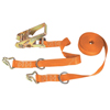 Keeper Ratchet Tie-Down Straps, Double-J Hooks, 1 In W, 15 Ft L, 2,000 Lb Capacity ORS 130-05515