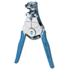 Ideal Industries Wire Strippers, 7 1/4 In, 10-22 Awg, 1/11;1/14;1/21;18/125;2/33;6/53 In, Blue IDI 131-45-092
