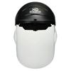 Crews XO Skeleton Headgear With Molded Faceshield, Clear Polycarb Faceshield CRW 135-104