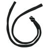 Crews Eyeglass Cords, Snakeskin Black W/Foam Insert CRW 135-215C