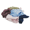 industrial wipers and towels and rags: Hospeco - Recycled Colored T-Shirt Rags