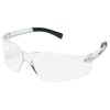 Crews Bearkat Protective Eyewear, Clear Polycarbonate Scratch-Resistant Lenses CRW 135-BK110