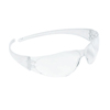 Crews Checkmate Safety Glasses, Clear Anti-Scratch Lenses, Clear Frame CRW 135-CK110