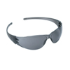 Crews Checkmate Safety Glasses, Gray Anti-Scratch Lenses, Black Frame CRW 135-CK112