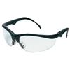 Crews Klondike Plus Protective Eyewear, Clear Lens, Black Frame CRW 135-KD310AF