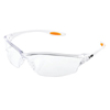 Crews Law Protective Eyewear, Polycarbonate Scratch-Resistant Clear Lens, Nylon Frame CRW 135-LW210