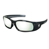 Crews Swagger Safety Glasses, I O Clear-Mirror Polycarbon Antifog Lens, Polycarb Frame CRW 135-SR119AF