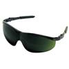 Crews Storm Protective Eyewear, Green Polycarbon Filter 5.0 Lenses, Black Nylon Frame CRW 135-ST1150