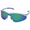 Crews Triwear Protective Eyewear, Clear Polycarbonate Anti-Fog Lenses, Onyx Frame CRW 135-T1110AF
