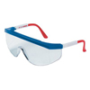 Crews Tomahawk Red/White/Blue Frame Clear Lens Soft Glass ORS 135-TK130