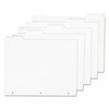 Ability One AbilityOne™ Tabbed Index Sheet Sets NSN 9594441