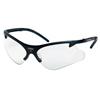 Smith & Wesson Code 4 Safety Eyewear, Clear Polycarbon Anti-Scratch Lenses, Black Nylon Frame SMW 138-19833