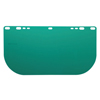 Jackson F20 Polycarbonate Face Shields, Dark Green, 15 1/2 In X 8 In X 0.04 In KCC 138-29100