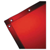 Portable Sheds 5 Foot: Wilson Industries - See-Thru Welding Curtains, 5 Ft X 8 Ft, Vinyl, Orange