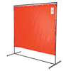 Ring Panel Link Filters Economy: Wilson Industries - Modular Screen Frames, 6 Ft X 6 Ft - 8 Ft, Steel, Silver