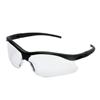 Kimberly Clark Professional V30 Nemesis S Safety Eyewear, Clear Polycarb Hard Coat Lenses, Black Nylon Frame KIM 138-38474