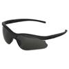 Kimberly Clark Professional V30 Nemesis S Safety Eyewear, Smoke Polycarb Hard Coat Lenses, Black Nylon Frame KIM 138-38476