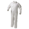 Kimberly Clark Professional KleenGuard® A35 Coveralls, Shell, Open Wrist/Ankles, White, Lg KIM 138-38918