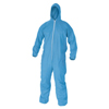 Kimberly Clark Professional KleenGuard® A65 Flame Resistant Coveralls, Hood, Elastic Wrists/Ankles, 2XL KIM 138-45325