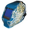 aaa batteries: Jackson - WH70 Truesight II Digital Variable ADF Welding Helmet, 5-13, Blue W/Gold Wings