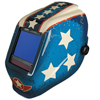 aaa batteries: Jackson - WH70 Digital Variable ADF Welding Helmet, 5-13, Halox Stars & Scars (Rd, WH, Bl)