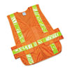 Ability One AbilityOne™ Safety Vest--Class 2 ANSI 107-2010 Compliant NSN 5984873