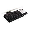 keyboard & mouse drawers & platforms: 3M Positive Locking Keyboard Tray with Highly Adjustable Platform