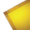 Wilson Industries See-Thru Welding Curtains, 6 Ft X 8 Ft, Vinyl, Yellow WLI138-36312