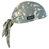 Ergodyne Chill-Its 6615 High-Performance Dew Rags, 6 In X 20 In, Camo ERG 150-12478