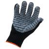 Safety-zone-nylon-gloves: Ergodyne - Proflex 9000 Lightweight Anti-Vibration Gloves, Gray/Dark Gray, X-Large
