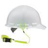 """Fall Protection Fall Protection Parts Accessories: Ergodyne - Squids 3157 Lanyard, 18"""", Buckle Connection, 2Lb Cap, Lime"""