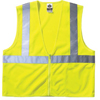 Ergodyne Economy Vest Class II Mesh Zipper Lime  L/XL ORS 150-21055