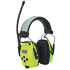 Honeywell Sync Hi-Vis Digital Am/Fm Radio Earmuff, 25 Db, Hi-Vis Green FND 154-1030390