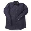 LAPCO 1000 Blue Denim Shirts LAP 160-DS-17-M