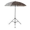 LAPCO Heavy Duty Construction Umbrellas, 7 Ft H, Camo (Brown/Olive), Acrylic/Canvas LAP 160-UM7ACC