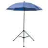 LAPCO Heavy Duty Umbrella, 6 1/2 Ft H, Blue, Vinyl LAP 160-UM7VB
