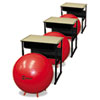 chairs & sofas: Champion Sports FitPro Ball with Stability Legs