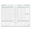 Franklin Covey FranklinCovey® Original Green Dated Weekly/Monthly Planner Refill FDP 3542314