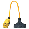 Coleman Cable Right Angle GFCI Extension Cord ORS 172-14880023-6