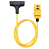 Coleman Cable Rainproof GFCI Extension Cord, 50 Ft ORS 172-14880229-6