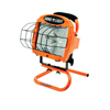 Coleman Cable 500W Portable Halogen Work Light W/ Switch; 500 Watt Portable Halogen Floodlight ORS 172-L33